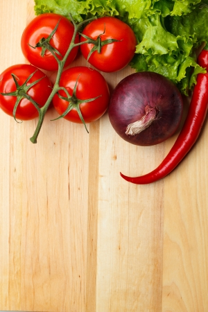 Vegetable on table Stock Photo - 14973501