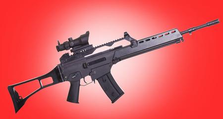assault rifle photo