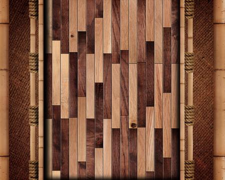 wood board: wood board with bamboo frame