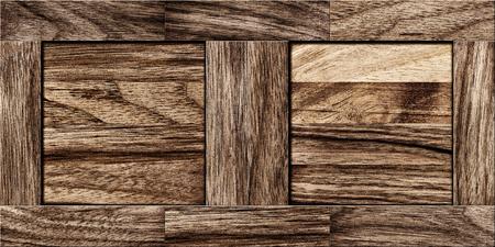 old wood floor: Wood Texture - Fragment of old parquet floor