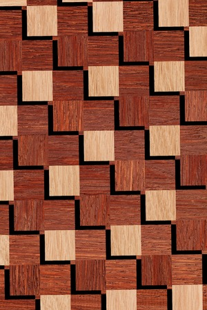 ligneous: pattern of wooden squares, seamless Stock Photo