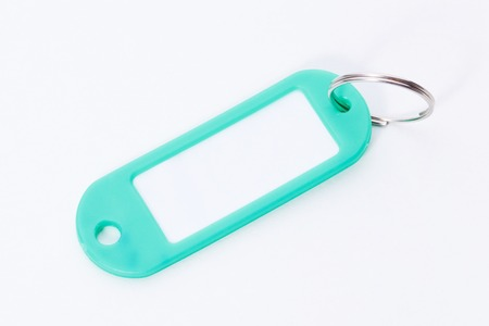 key fob: Green key fob