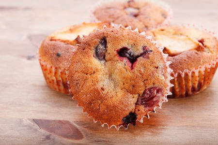 muffin: Muffins on a table