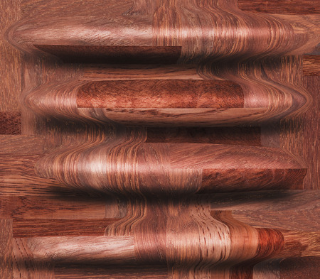 holey: Wooden decorative seamless pattern Stock Photo