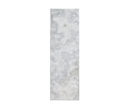 Concrete Capital Letter - I isolated on white background. 3D render Illustration Foto de archivo
