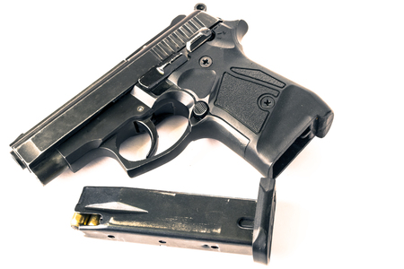 Gun isolated on white Reklamní fotografie
