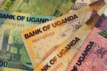 Banknotes of Uganda, Ugandan Shilling, close-up