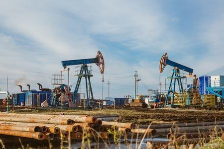 Oil pump rig energy industrial machine for petroleum