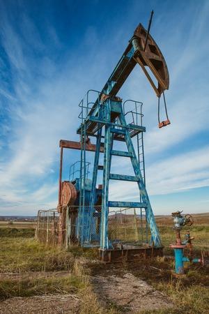 onshore: Oil pump rig energy industrial machine for petroleum