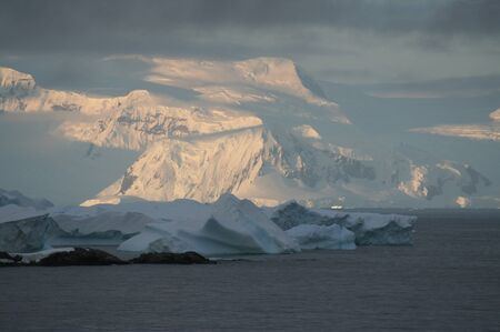 Photo from the Arctic expedition. South pole