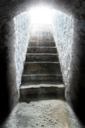 purgatory: light at the end of the tunnel, tomb, salvation