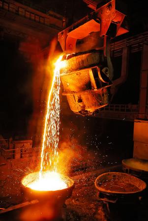 metallurgist: Liquid Molten Steel Industry