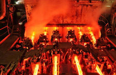heavy industry metallurgical plant continuous casting machine