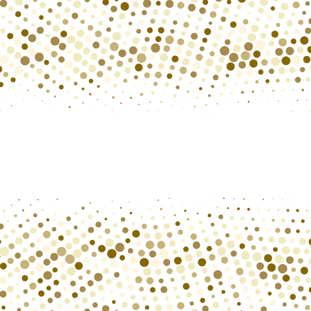 Vector gold  dotes background.  halftone effect. Eps10 vector