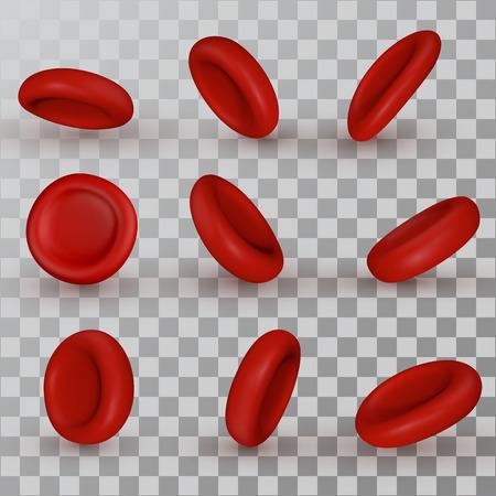 Vector rode bloedcellen Stockfoto - 81388576