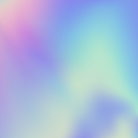 Holographic foil gradient iridescent background Bright trendy minimal hologram backdrop. Iridescent backdrop for creative project