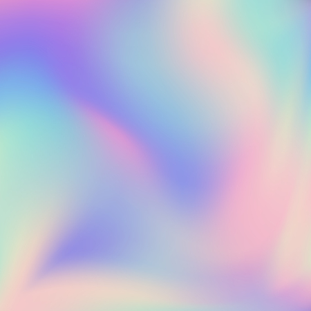 Abstract blurred Holographic gradient background Modern minimal design. Iridescent backdrop for creative project