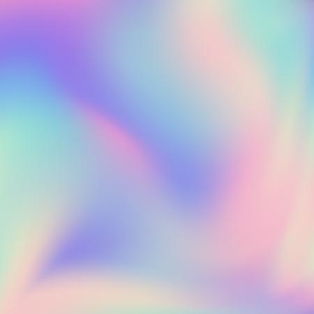 Abstrait flou holographique fond dégradé Design minimaliste moderne. Toile de fond irisée pour projet créatif