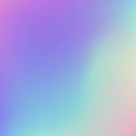 Abstract blurred Holographic gradient  background  Modern minimal design. Holographic foil vector