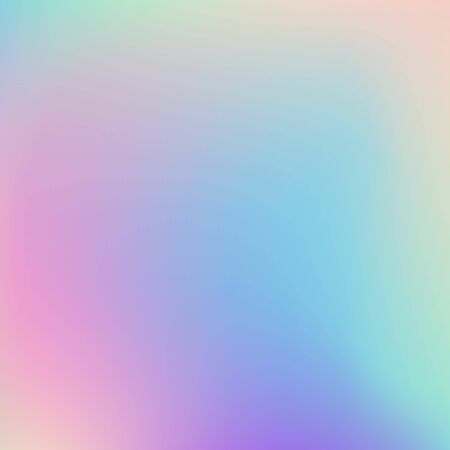 Hologram  blurred background  Blurred abstract iridescent holographic foil background. Holographic foil vector