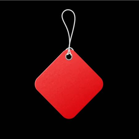 Red label. Sale promotion, low price offer. Promo tag discount offer layout. Best collection.