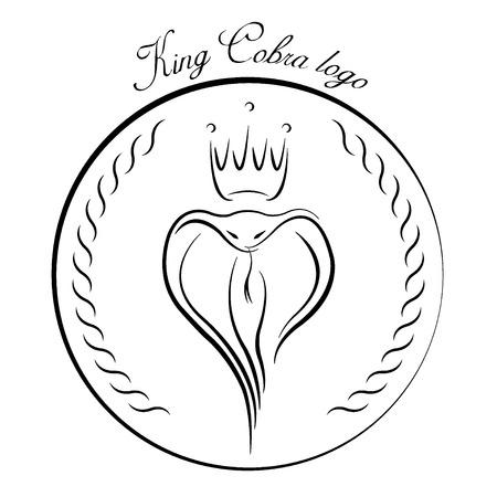 King Cobra logo. Vector