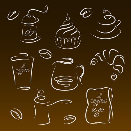 morning breakfast: Morning breakfast.  Illustration