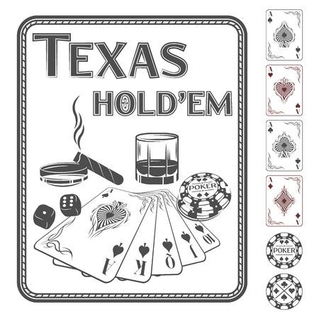 hold'em: Texas Holdem poker.