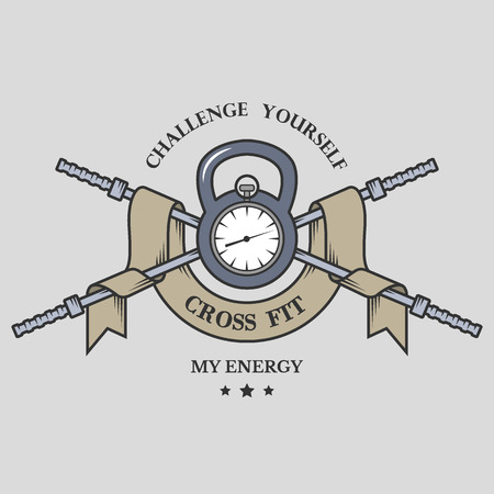 iron cross emblem: Training on time Fitness emblem