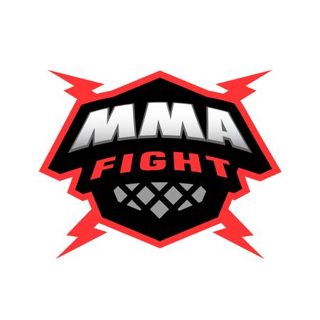 knocking: Mixed martial arts logo.