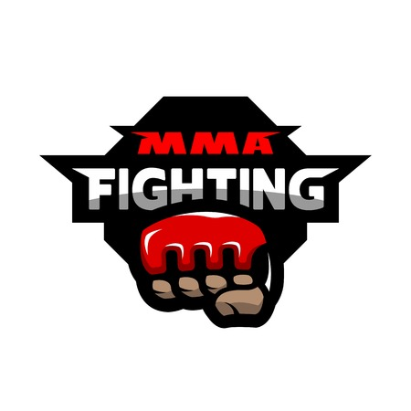 MMA fighting logo.