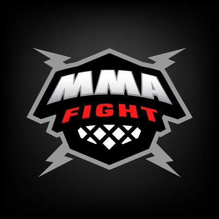 Mixed martial arts logo.