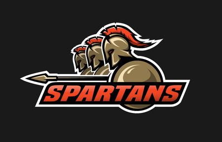 warriors: Spartan warriors.