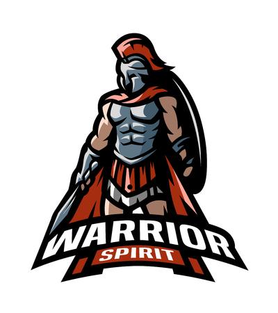 The Roman Warrior logo.