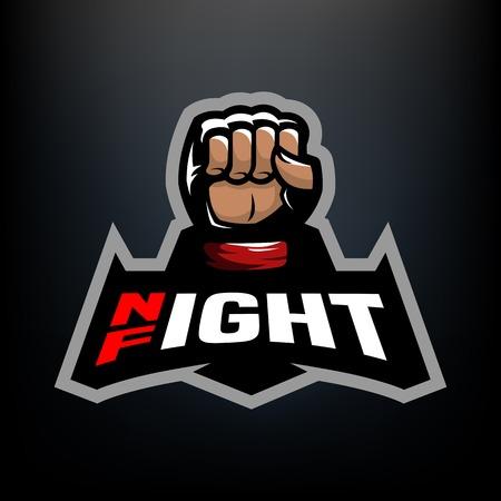 Night fight logo.