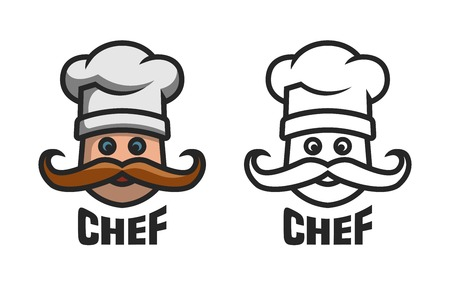 Chief logo, two options. Illustration