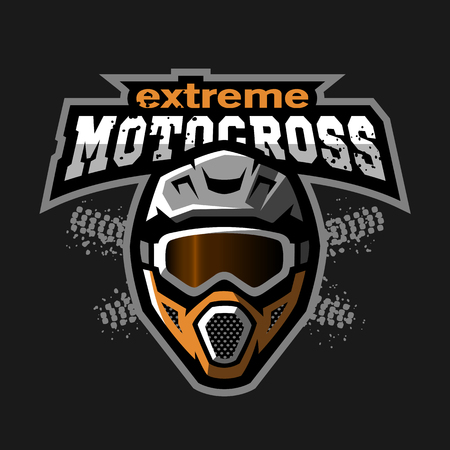 Extreme motocross logo.