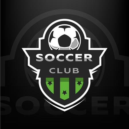 Club de football, logo sportif.