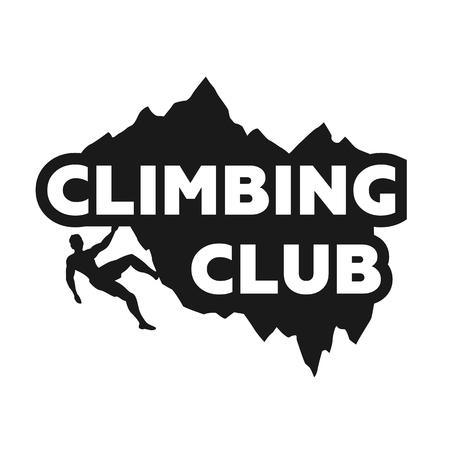 Climbing icon.
