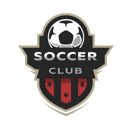 Soccer club, sport icon.