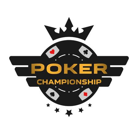 Poker Championship emblem. Фото со стока - 91002043