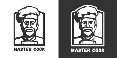 Master cook logo. Stock Vector - 101973495