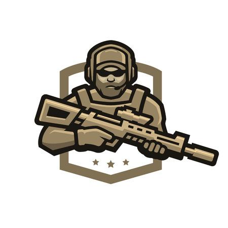 特殊部隊兵士。