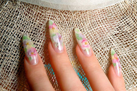 Manicure art photo