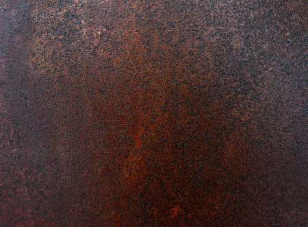 Rough texture the surface of rusty iron sheet