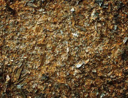 Wood texture - plywood made of pressed sawdust closeup Фото со стока