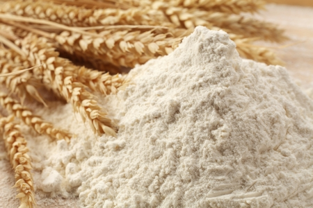 wheat straw and wheat flour Stock Photo - 13310748