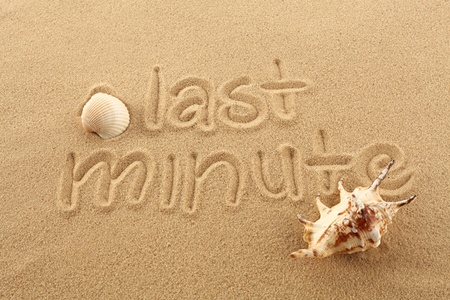 sand with writing with seashell