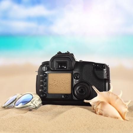 holiday camera Stock Photo - 13375890