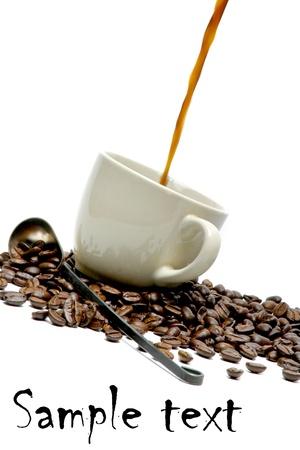 splash of coffee